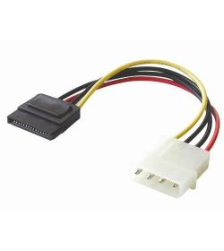 Cable Adaptador Molex Macho 4 Pines a Sata