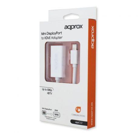 Approx APPC12 Adaptador Mini Display Port M / Hdmi H