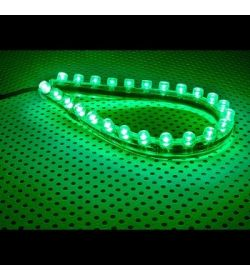 Lamptron FlexLight 24 Leds Verde 240mm