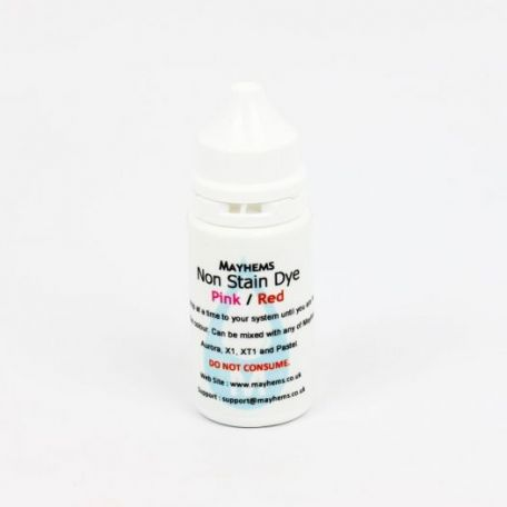 Mayhems Non Stain Pink / Red Dye 15ml