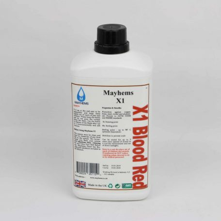 Mayhems X1 - Blood Red 1ltr