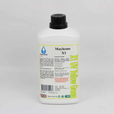 Mayhems X1 - UV Yellow / Green 1ltr