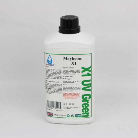 Mayhems X1 - UV Green 1ltr