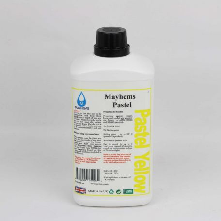 Mayhems Pastel Yellow 1Ltr