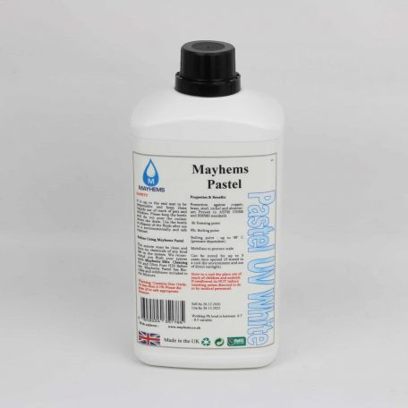 Mayhems Pastel UV White 1Ltr