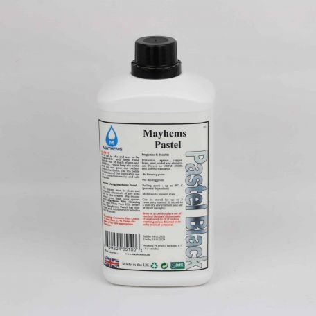 Mayhems Pastel Pure Black 1Ltr