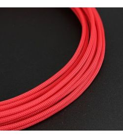 E22 Funda Sleeving Teleios Rojo 4mm
