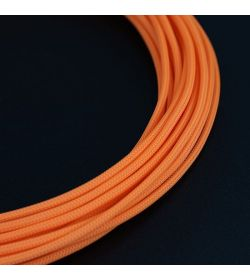 E22 Funda Sleeving Teleios Naranja 4mm