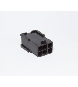 BHCustoms Conector PCIe 6 pin Negro - Macho