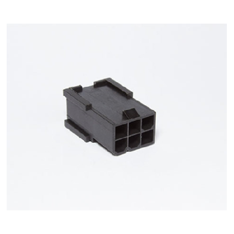 Conector PCIe 6 pins negro BH Customs - macho