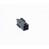 Conector EPS 4 pins negro BH Customs - macho