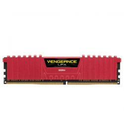 Corsair Vengeance LPX Red DDR4 3200 8GB 2x4 CL16