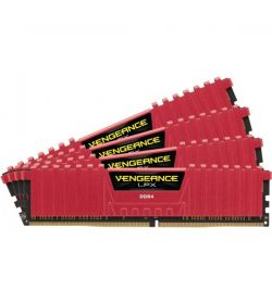 Corsair Vengeance LPX Red DDR4 2666 32GB 4x8 CL16