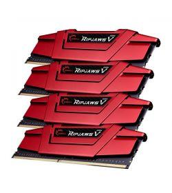 G.Skill Ripjaws V Red DDR4 2400 16GB 4x4 CL15