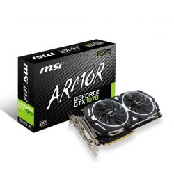 MSI GeForce GTX 1070 Armor OC 8GB GDDR5