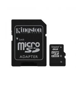 Kingston MicroSDHC 8GB Clase 4