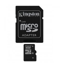 Kingston MicroSDHC 16GB Clase 10