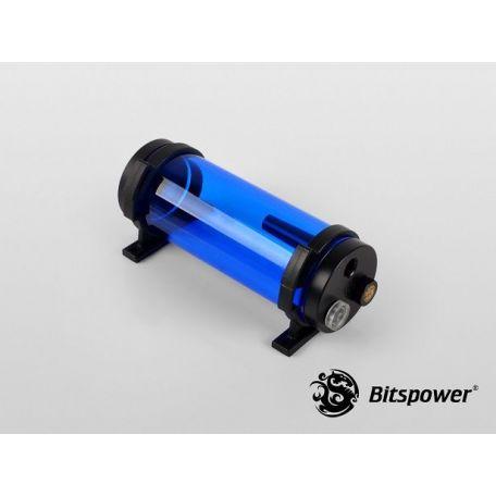 Bitspower Depósito de agua Z-Multi 150 ICE Blue Body & Black POM Cap