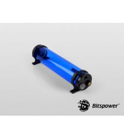 Bitspower Z-Multi 250 ICE Blue Body & Black Acetal Depósito