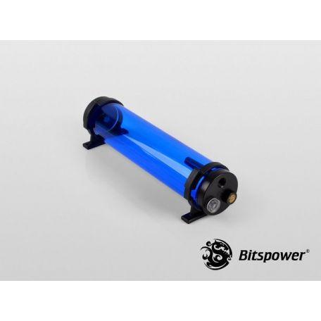 Bitspower Depósito Tanque de agua Z-Multi 250 IICE Blue Body & Black POM Cap