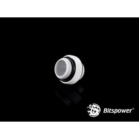 Bitspower Racord Blanco Deluxe Mini Dual Male G1/4