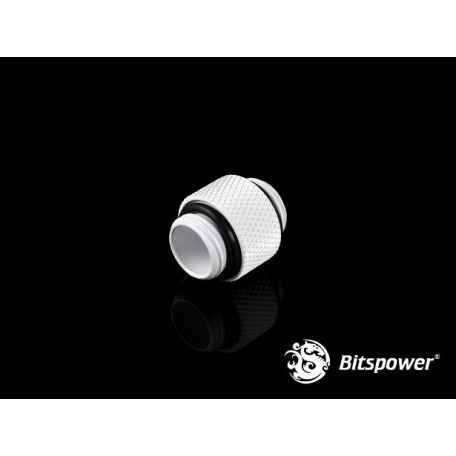 Bitspower Racord Blanco Deluxe Dual Male G1/4