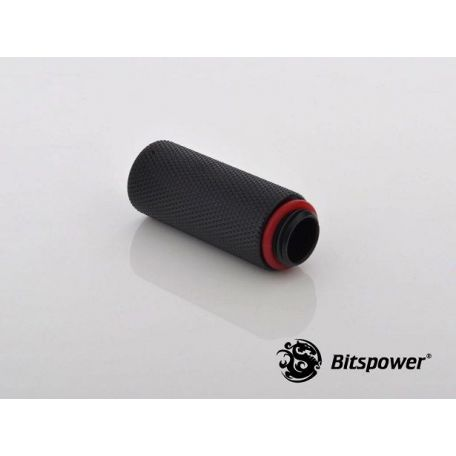 Bitspower Racord Extensor 40mm Negro Carbono IG1/4