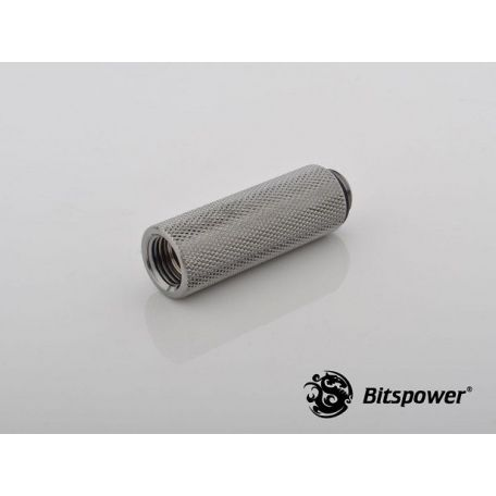 Bitspower Racord extensor 50mm Negro brillante IG1/5