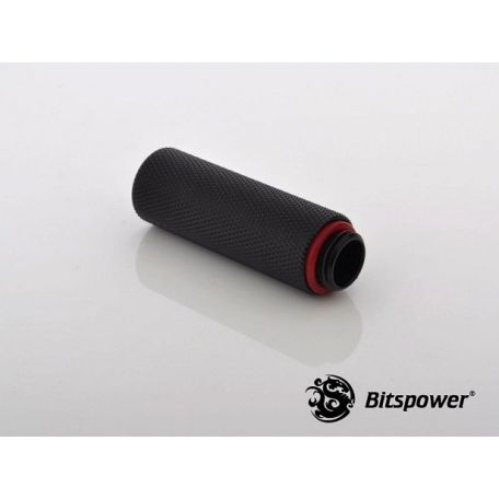 Bitspower Racord extensor 50mm Negro carbono G1/5