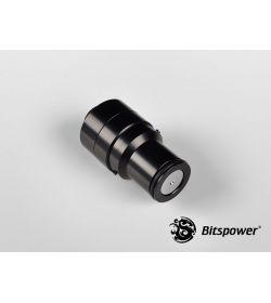 """Bitspower G1/4"""" Conexión/Desconexión Rápida Macho Negro Mate"""