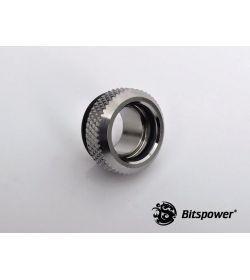 Bitspower C48 Multi-Link Mini Plata Brillante Racor