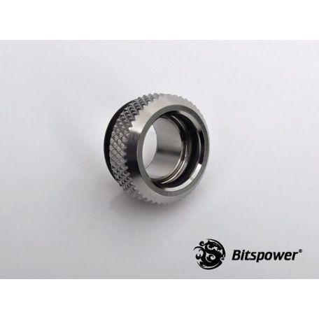 Bitspower Racord Adaptador Multifunción Mini C49 Plata Brillante
