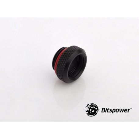 Bitspower Racord adaptador multifunción Negro Carbono Mini C49