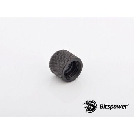 Bitspower Racord adaptador multifunción Negro carbono C69