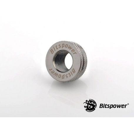 Bitspower Negro brillante CaseTop Water Fill SET