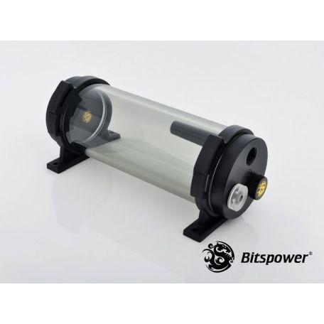 Bitspower Depósito Tanque de agua Z-Multi 150 ICE Black Body & Black POM Cap