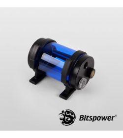 Bitspower Z-Multi 80 ICE Blue Body & Black Acetal Depósito