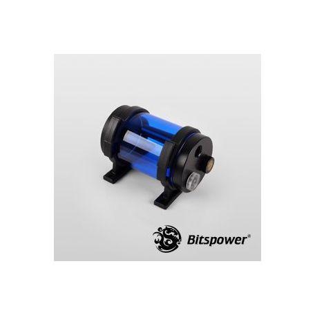 Bitspower Depósito Tanque de agua Z-Multi 80 ICE Blue Body & Black POM Cap