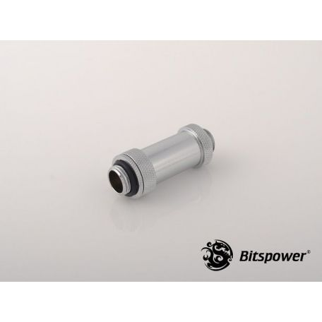 Bitspower Plata brillante Aqua Link Pipe II 41-69mm