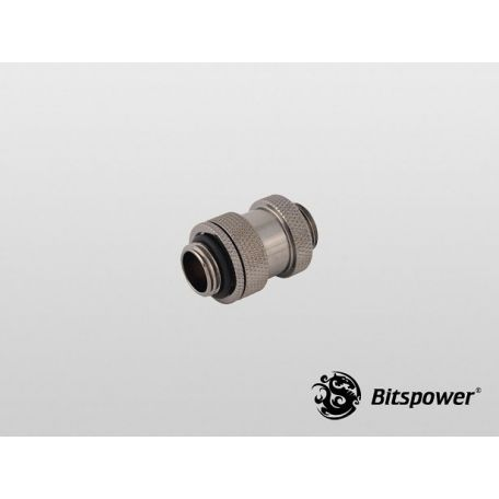 Bitspower Negro brillante Aqua Link Pipe I 22-31mm