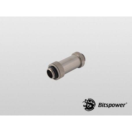Bitspower Negro brillante Aqua Link Pipe II 41-69mm