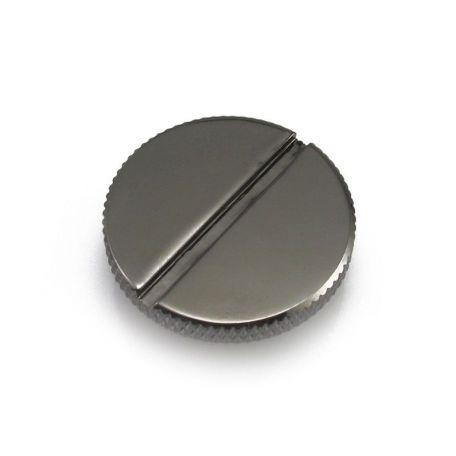 XSPC Tapón fino M20 Negro cromado