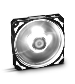 Nox Hummer H-Fan Led Blanco 120mm