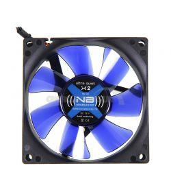 Noiseblocker Black Silent Fan X-2 1800rpm 80mm