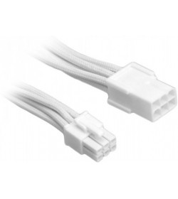 BitFenix Alchemy 6 Pin PCI-E 45 cm Blanco/Blanco