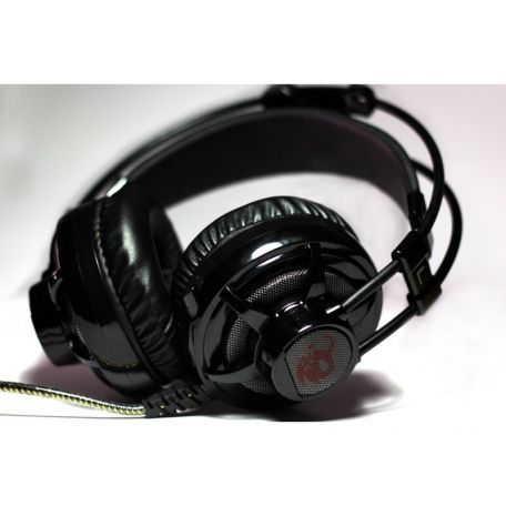CoolBox Deep Ripple Gaming Headset Negro