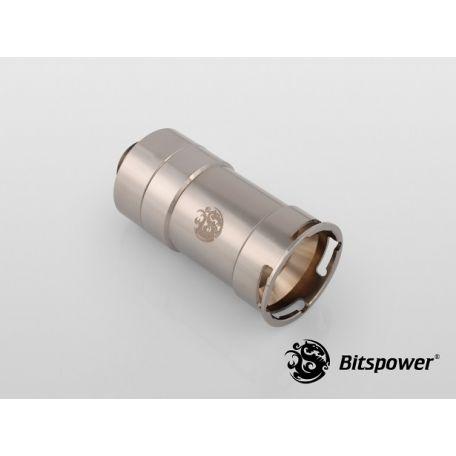 Bitspower G1/4 Negro Brillante Hembra Racord Conexión/Desconexión Rápida
