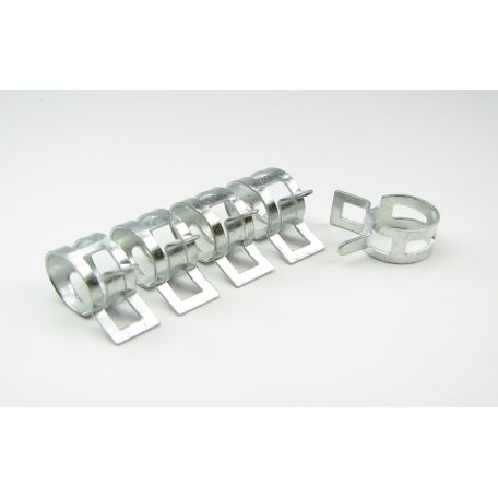 PrimoChill 16mm Abrazacera de Acero – Pack 10 unidades