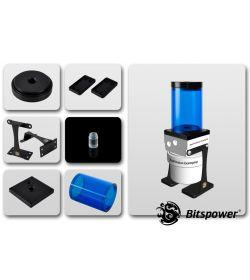 Bitspower Kit para D5 TOP 80 ICE Blue Body Acetal Depósito