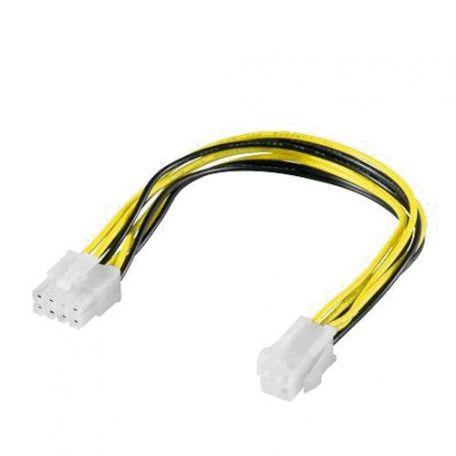 Cable Alimentación EPS12V 8pin a 4pin